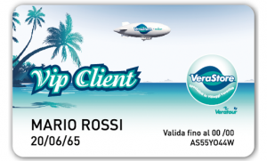 fronte VCARD