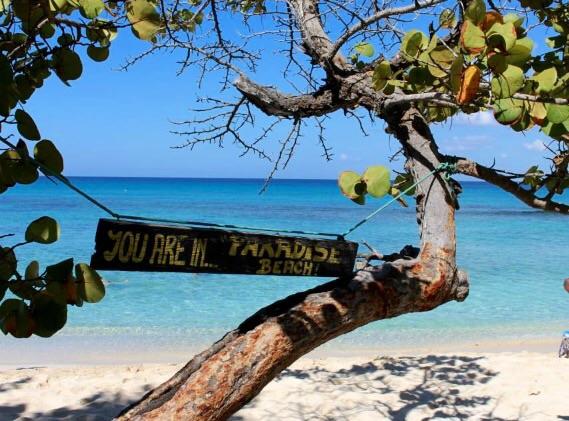 paradise beach santo domingo sara g